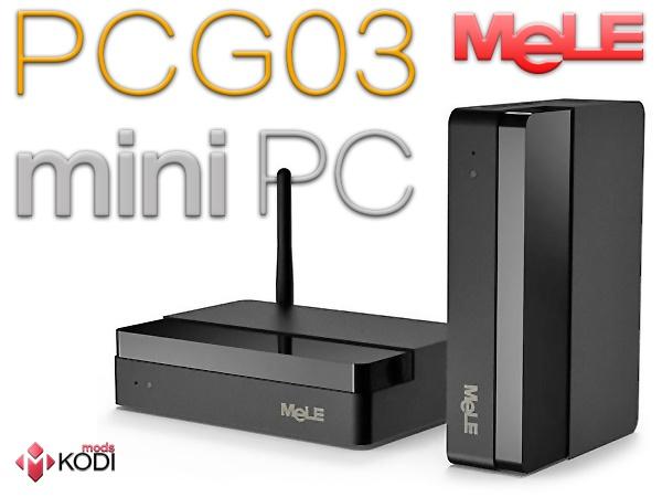 Mods-KODI - test MeLE PCG03 MiniPC - recenzja od moras86