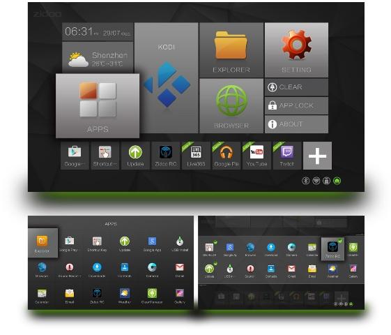 Zidoo X6 Pro ZIUI